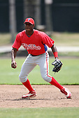 April 10, 2009:  2008 first round (1st rd) draft pick Anthony Hewitt of the Philadelphia Phillies extended spring training team during an intrasquad scrimmage at Carpenter Complex in Clearwater, FL.  Photo by:  Mike Janes/Four Seam Images