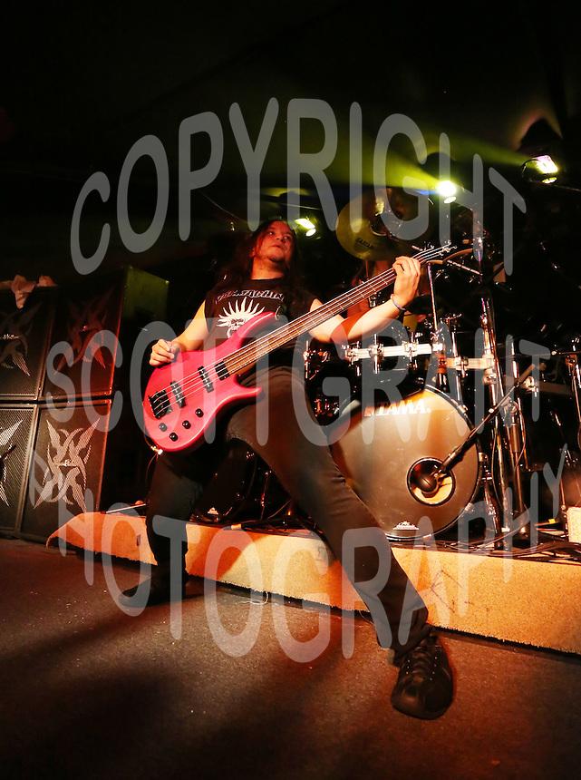 Alberto Campuzano Annihilator Heavy Metal. Photo Scott Grant