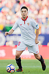 Samir Nasri of Sevilla FC in action during their La Liga match between Atletico de Madrid and Sevilla FC at the Estadio Vicente Calderon on 19 March 2017 in Madrid, Spain. Photo by Diego Gonzalez Souto / Power Sport Images