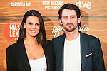 """Raul Arevalo and his girlfriend attends to the premiere of the spanish film """"Mi Panaderia en Brooklyn"""" at Cines Capitol in Madrid. June 30 2016. (ALTERPHOTOS/Borja B.Hojas)"""