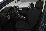 Front seat view of a 2018 Audi A4 allroad quattro base 5 Door Wagon front seat car photos