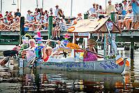 Great Dock Race, Crayton Cove, Naples, Florida, USA. Photos by Debi Pittman Wilkey