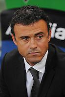 O Barcelona confirmou na tarde desta segunda-feira que  Luis Enrique será o novo técnico da equipe para a próxima temporada, na foto arquivo de 29/10/2011 durante partida do Campeonato Italiano em Roma. (Foto: Marco Iorio / Pixathlon / Brazil Photo Press).