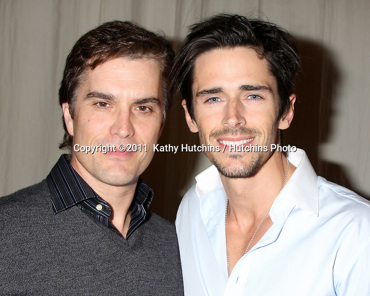 LOS ANGELES - FEB 7:  Rick Hearst, Brandon Beemer at the 6000th Show Celebration at The Bold & The Beautiful at CBS Television City on February 7, 2011 in Los Angeles, CA