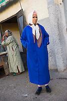 Afrique/Afrique du Nord/Maroc/Rabat: femme de la médina