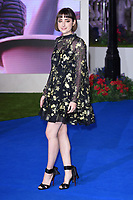 "LONDON, UK. December 12, 2018: Ellise Chapell at the UK premiere of ""Mary Poppins Returns"" at the Royal Albert Hall, London.<br /> Picture: Steve Vas/Featureflash"