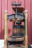 Vintage Basket Apple Press (built 1867) - Old Juice Maker