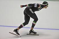 SCHAATSEN: CALGARY: Olympic Oval, 08-11-2013, Essent ISU World Cup, 1500m, Matteo Anesi (ITA), ©foto Martin de Jong