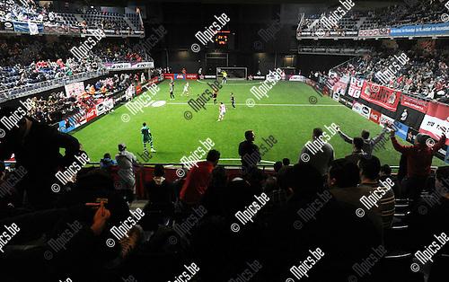 2014-01-04 / Voetbal / seizoen 2013-2014 / Football Battle Antwerpen / <br /><br />Foto: Mpics.be