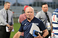 Sir Graham Henry during the 2018 Mitre 10 Cup rugby match between Canterbury and Auckland at Christchurch Stadium, Christchurch, New Zealand on Sunday, 16 September 2018. Photo: Martin Hunter / lintottphoto.co.nz