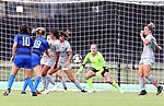 DENTON TX - SEPTEMBER 29: Mean Green Soccer v Middle Tennessee at Soccer facility in Denton on September 29, 2019 in Denton, Texas. (Photo by Rick Yeatts)