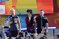 www.acepixs.com<br /> May 19, 2017 New York City<br /> <br /> Mike Dirnt, Billie Joe Armstrong, Tr&eacute; Cool of Green Day performing on Good Morning America Central Park on May 19, 2017 in New York City.<br /> <br /> Credit: Kristin Callahan/ACE Pictures<br /> <br /> Tel: 646 769 0430<br /> e-mail: info@acepixs.com