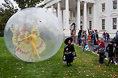 Washington, DC - October 31, 2009 -- Children from Washington, D.C., Maryland and Virginia schools participate in Halloween festivities at the North Portico of the White House, October 31, 2009. .Mandatory Credit: Pete Souza - White House via CNP