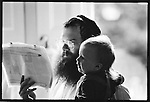 Rabbi Herschel Gluck at home, Stamford Hill  North London