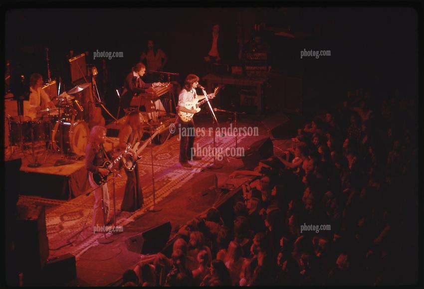 Poco in Concert, Winterland Ballroom, San Francisco,10 August 1973