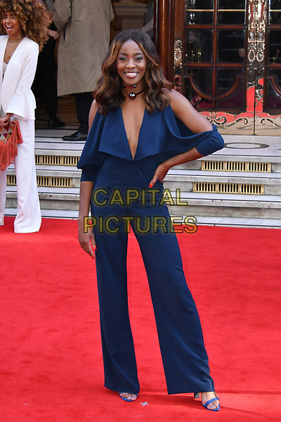 LONDON, ENGLAND - MARCH 15: AJ Odudu at the Prince's Trust and Samsung Celebrate Success Awards 2017, The London Palladium, Argyll Street, London, England, UK, on Wednesday 15 March 2017.<br /> CAP/JOR<br /> &copy;JOR/Capital Pictures