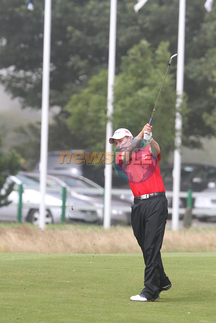 Gregory Tickell (WALES) on the 10th on the Final Day at the 2012 Boys Home Internationals at Co.Louth Golf Club in Baltray, Co.Louth...(Photo credit should read Jenny Matthews/NEWSFILE)...
