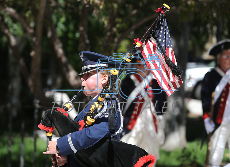 Images from the 19th Annual Flag Day Ceremony &amp; U.S. Army Birthday ceremony at the Nevada Veterans Memorial in Carson City, Nev. on Wednesday, June 14, 2017. <br /> Photo by Cathleen Allison/Nevada Photo Source