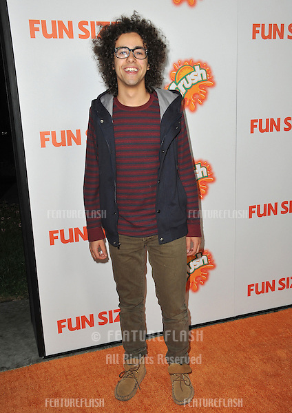 "Ramy Youssef at the Los Angeles premiere of ""Fun Size"" at the Paramount Theatre, Hollywood..October 25, 2012  Los Angeles, CA.Picture: Paul Smith / Featureflash"