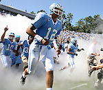 02 September 2006: UNC's Joe Dailey (12). The University of North Carolina Tarheels lost 21-16 to the Rutgers Scarlett Knights at Kenan Stadium in Chapel Hill, North Carolina in an NCAA Division I College Football game.