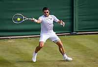 London, England, 3 July, 2019, Tennis,  Wimbledon, Janko Tipsarevic (SRB)<br /> Photo: Henk Koster/tennisimages.com