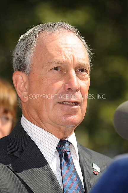 WWW.ACEPIXS.COM . . . . .....August 7, 2008. New York City.....Mayor Michael Bloomberg attends a press conference on August 7, 2008 in New York City. ....Jay-Z and Mayor Michael Bloomberg have announce that the next three Saturdays in the city will close seven miles of streets to vehicle traffic, giving the streets over to New Yorkers for leisure and fun.  ....Please byline: Kristin Callahan - ACEPIXS.COM..... *** ***..Ace Pictures, Inc:  ..Philip Vaughan (646) 769 0430..e-mail: info@acepixs.com..web: http://www.acepixs.com