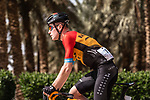 Fred Wright (GBR) Bahrain-McLaren during Stage 5 of the Saudi Tour 2020 running 144km from Princess Nourah University to Al Masmak, Saudi Arabia. 8th February 2020. <br /> Picture: ASO/Kåre Dehlie Thorstad   Cyclefile<br /> All photos usage must carry mandatory copyright credit (© Cyclefile   ASO/Kåre Dehlie Thorstad)