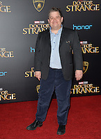 LOS ANGELES, CA. October 20, 2016: Patton Oswalt at the world premiere of Marvel Studios' &quot;Doctor Strange&quot; at the El Capitan Theatre, Hollywood.<br /> Picture: Paul Smith/Featureflash/SilverHub 0208 004 5359/ 07711 972644 Editors@silverhubmedia.com