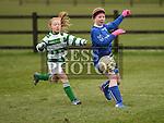 Termonfeckin Abbie Kierans Ardee Celtic Shauna Lynch. Photo:Colin Bell/pressphotos.ie