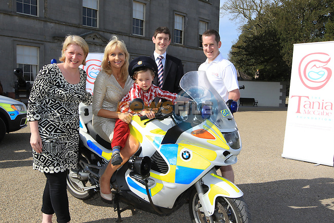 at the launch of the 5 Alive Running 5 Marathons in 5 Days To Keep special babies alive 4rd-7th July 2012 in aid of the Tanya Mccabe foundation..Picture Fran Caffrey www.newsfile.ie..For more information contact the taniamccabefoundation@gmail.com
