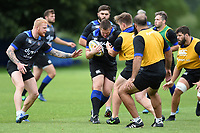 Shaun Knight of Bath Rugby in action. Bath Rugby pre-season training session on July 28, 2017 at Farleigh House in Bath, England. Photo by: Patrick Khachfe / Onside Images
