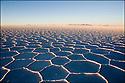 -Octobre 2007- Bolivie- Uyuni- Désert de sel.