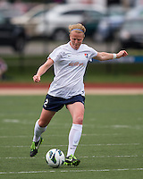 Sky Blue FC defender CoCo Goodson (2).  In a National Women's Soccer League Elite (NWSL) match, Sky Blue FC defeated the Boston Breakers, 3-2, at Dilboy Stadium on June 16, 2013