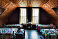 Bunk room, Indian River Life Saving Station Museum, Rehoboth Beach, delaware, USA