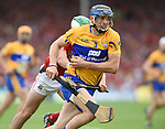 David Mc Inerney of Clare in action against Shane Kingston of Cork during their Munster senior hurling final at Thurles. Photograph by John Kelly.