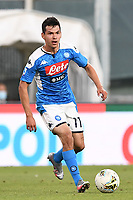 Hirving Lozano of SSC Napoli during the Serie A football match between Genoa CFC and SSC Napoli stadio Marassi in Genova ( Italy ), July 08th, 2020. Play resumes behind closed doors following the outbreak of the coronavirus disease. <br /> Photo Matteo Gribaudi / Image / Insidefoto