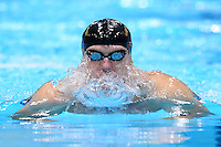 PICTURE BY ALEX BROADWAY /SWPIX.COM - 2012 London Paralympic Games - Day Ten - Swimming, Aquatic Centre, Olympic Park, London, England - 08/09/12 - Maksym Veraska of Ukraine competes in the Men's 100m Breaststroke SB12 Heats.