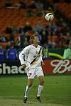 05 November 2004, Sasha Victorine of the MLS Los Angeles Galaxy in their 2-0 loss to the Kansas City Wizards at Arrowhead Stadium, Kansas City, Missouri.  With the win, the Wizards advanced to the 2004 MLS Cup Final..Mandatory Credit: Wade Jackson