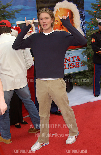 Actor CHAD MICHAEL MURRAY at the world premiere of The Santa Clause 2, at the El Capitan Theatre, Hollywood..27OCT2002.  © Paul Smith / Featureflash