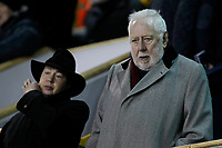 Former MP Roy Hattersley during the Sky Bet Championship match between Millwall and Sheff Wednesday at The Den, London, England on 20 February 2018. Photo by Carlton Myrie.