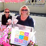 Katie Hynes and Catherine Whelehan of the Little Strand restaurant selling prawn cocktail at the Clogherhead Prawn Festival. Photo: www.colinbellphotos.com