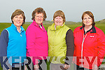 PUTTING LADIES: Competing in the Patrick's the Hair Company ladies foursomes at Tralee golf club on Sunday l-r: Anita Lynch, Philomena Stack, Maria McGrath and Angela Deenihan...