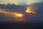 Sunrise from Ben Gurion Airport