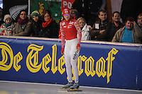 SCHAATSEN: ERFURT: Gunda Niemann-Stirnemann Halle, 02-03-2013, Essent ISU World Cup, Season 2012-2013, 1500m Ladies A, Yekaterina Shikhova (RUS), ©foto Martin de Jong