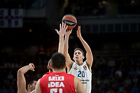 Real Madrid Jaycee Carroll during Turkish Airlines Euroleague match between Real Madrid and Crvena Zvezda at Wizink Center in Madrid, Spain. December 01, 2017. (ALTERPHOTOS/Borja B.Hojas)