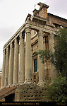Temple of Antonius and Faustina Forum Romanum Rome