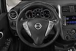 Car pictures of steering wheel view of a 2019 Nissan Versa-Note SV 5 Door Hatchback