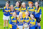 The Kilmurry NS Cordal at the Cumann na mbunscoil mini sevens finals in Fitzgerald Stadium on Thursday front row l-r: Hollyann Smith, Ava Fitzmaurice, Lisa Flynn, Abbie Kelliher. Back row: Jane Lawlor, Zoe smith, Orlath O'Donoghue, Bernadette O'Mahony, Aoife kerins, Aoife walsh