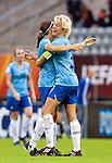Daphne Koster, Annemieke e/v Kiesel, Women's EURO 2009 in Finland.Denmark-Netherlands, 08292009, Lahti Stadium