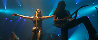 After Forever, durante su concierto en expoforum. 16/10/2006<br /> (Photo: Luis Gutierrez / NortePhoto)
